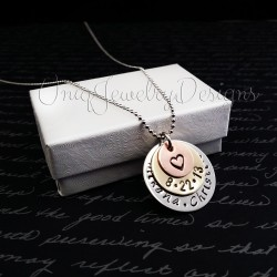 Personalized Anniversary Necklace