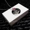 Personalized Princess Castle Necklace