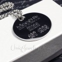 Personalized City Necklace
