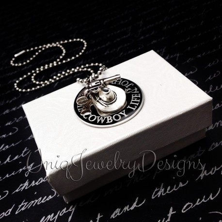 The Cowboy Life Personalized necklace