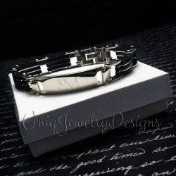 Men's Personalized ID Bracelet