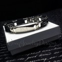 Mens Personalized ID Bracelet