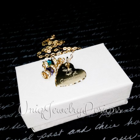 Nugold Heart Necklace