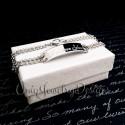 I Love You Engraved Bracelet