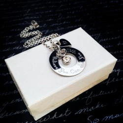 Initial Quote Necklace