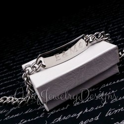 Personalized Stainless Steel Name Bracelet