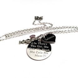 So There's This Girl She Stole My Heart Necklace