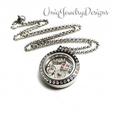 Mother Child Memory Locket