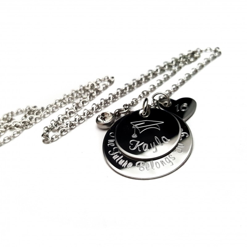 tag dog product jumbo mynamenecklace necklace graduation jewelry