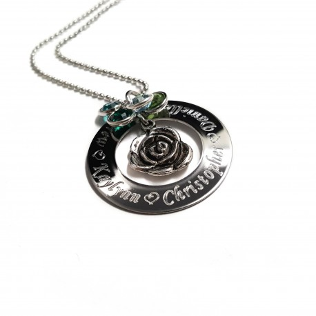 Personalized Mothers Name Necklace