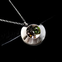 925 Sterling Silver Daughter Necklace