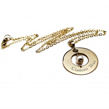 14k Gold Filled Name Necklace