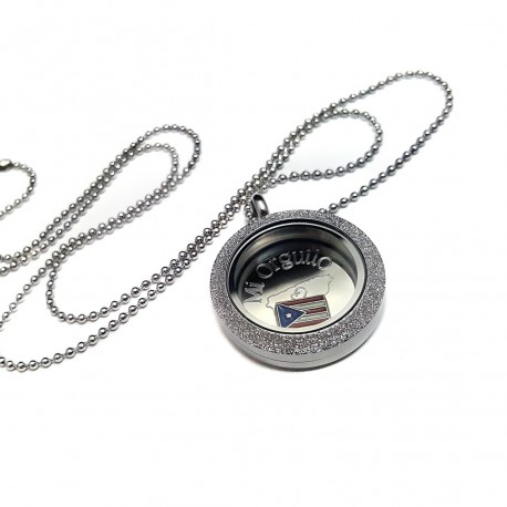 Stainless Steel Mi Orgullo Locket