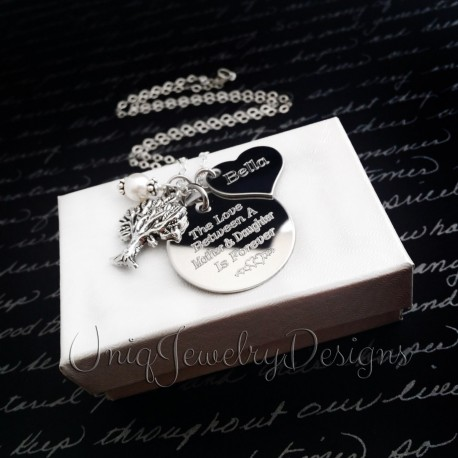 Tree Of Life Mother Daughter Necklace