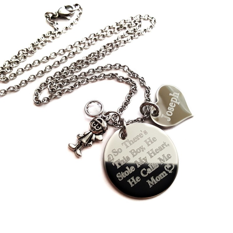 So There\'s This Boy He Stole My Heart - UniqJewelryDesigns