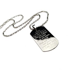 Son Dog Tag Necklace