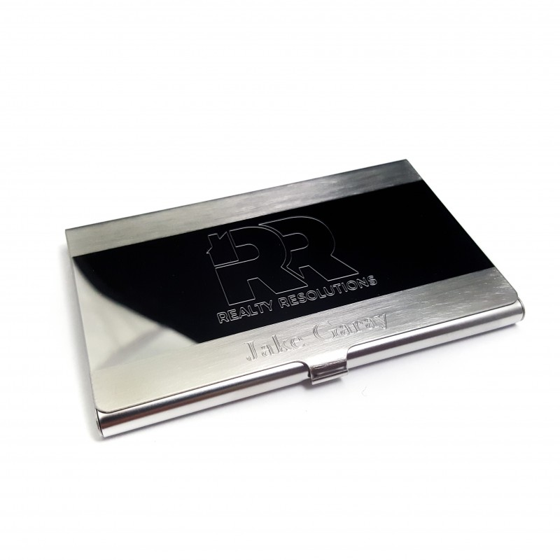 Personalized Business Card Holder - UniqJewelryDesigns