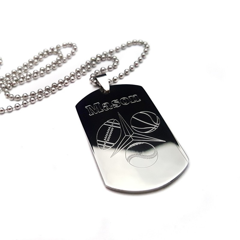 Tri Sport Dog Tag Uniqjewelrydesigns