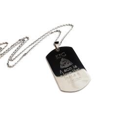 Celtic Symbol Dog Tag Necklace