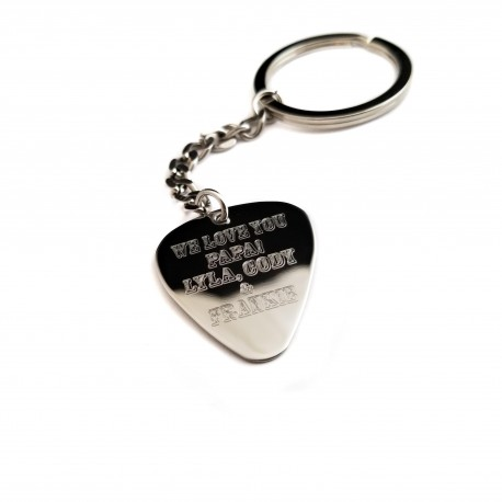 Grandpa Guitar Pick Personalized