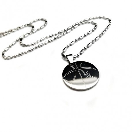 Basketball pendant necklace uniqjewelrydesigns new basketball pendant necklace mozeypictures Images