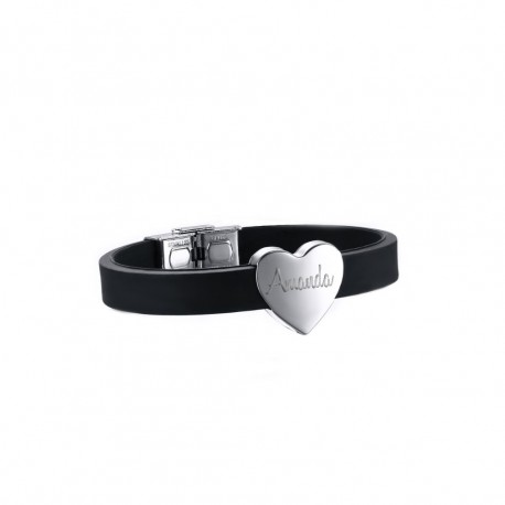 Stainless Steel Heart Bracelet