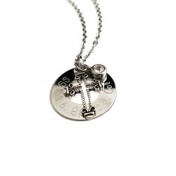 Personalized Let Go and Let God Necklace