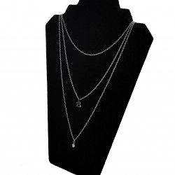 Initial Layer Necklace