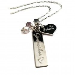 Godmother Bar Necklace