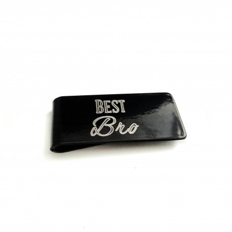 Best Brother Money Clip