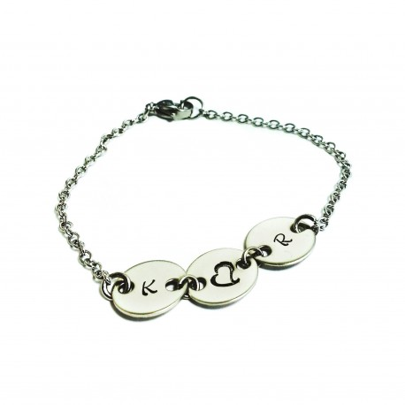 Personalized Initial Bracelet