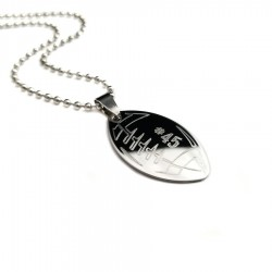 Football Pendant Necklace