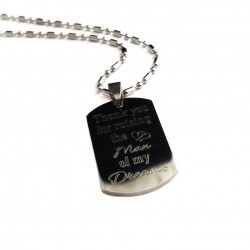 Thank You For Raising The Man Of My Dreams Dog Tag
