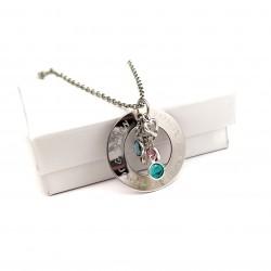 Grandmother Birthstone Necklace