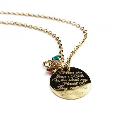 So There Are These Kids They Stole My Heart Necklace