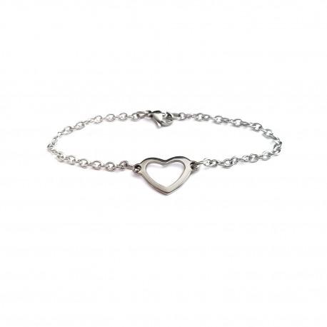 Simple Heart Bracelet