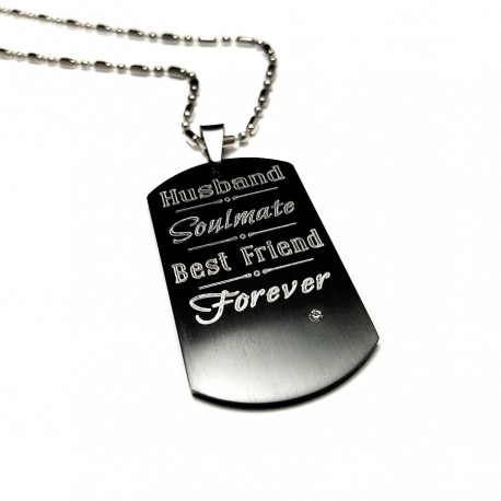 583e8282059 Husband Soulmate Best Friend Black Dog Necklace Uniqjewelrydesigns. Tap To  Expand. Proud Dog Mom Black Diamond Necklace Sterling Silver 173680808 Kay