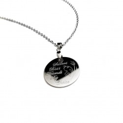 Sisters Best Friends by Choice Necklace