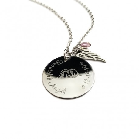 Mom of An Angel Necklace