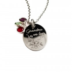 Grandmother Flower Necklace