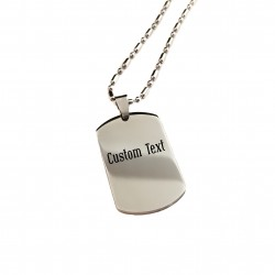 Create Your Own Medium Dog Tag