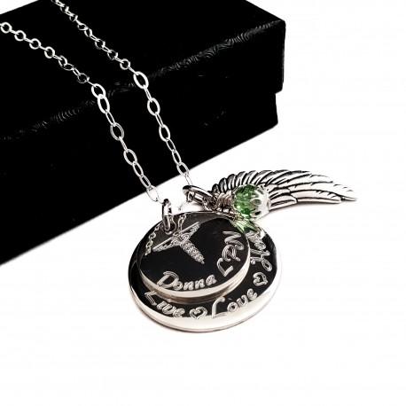 925 Sterling Silver Nurse Necklace