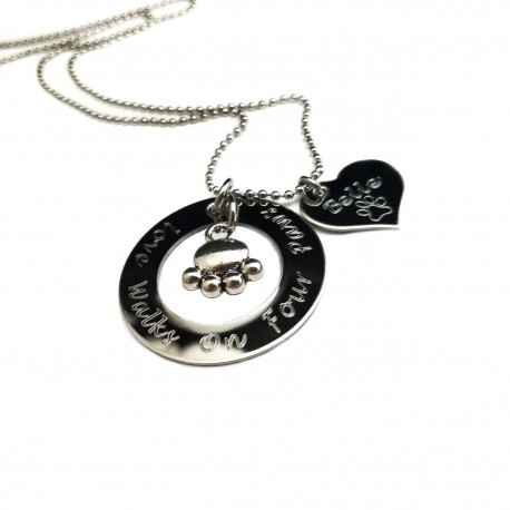 Personalized Engraved Pet Necklace