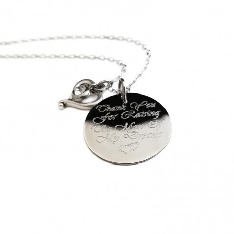 925 Sterling Silver Mother In Law Necklace