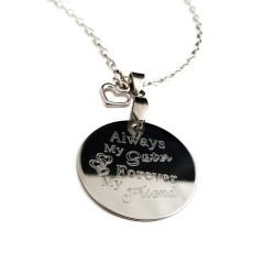 Sister Quote Necklace