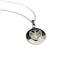 Angel Wing Memorial Necklace