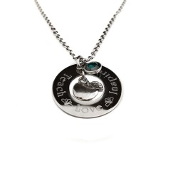 Personalized Teacher Necklace