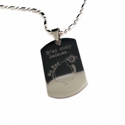 Father's Quote Necklace