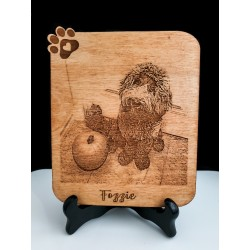 Wood Engraved Product Photo