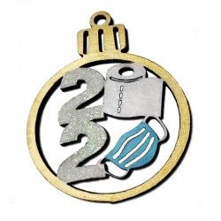 2020 Wood Ornament